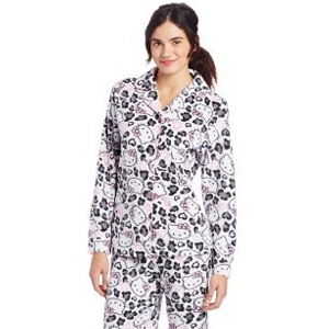Hello Kitty Fleece Pajama Set
