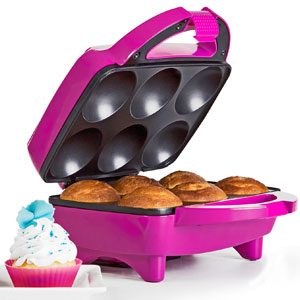 Holstein Housewares HF-09013M Fun Cupcake Maker