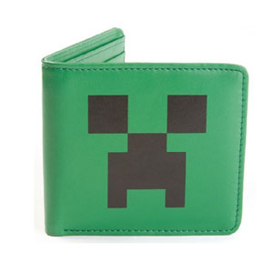 Jinx Mens Minecraft Creeper Face Wallet