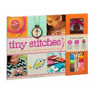 Klutz Tiny Stitches Craft Kit