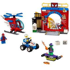 LEGO Juniors Spider-Man Hideout Building Kit