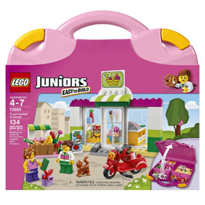 LEGO Juniors Supermarket Suitcase
