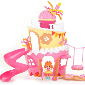 Mini Lalaloopsy Party Cake