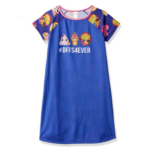 The Childrens Place Girls Short Sleeve Nightgown
