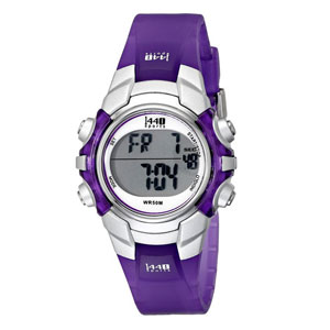 Timex Women's Sports Digital Purple Watch