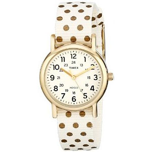 Timex Women's Weekender Gold-Tone Watch TW2P654009J