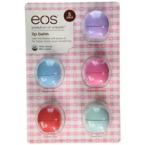 EOS Lip Balm (Pack of 5)