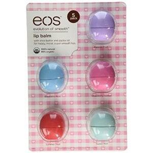 eos Organic Lip Balm 5 Pack