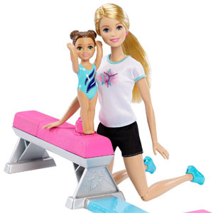 Barbie Flippin Fun Gymnastics Dolls
