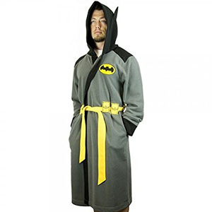 Batman Hooded Robe with Belt