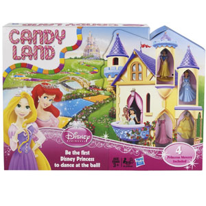 Candy Land Game: Disney Princess Edition