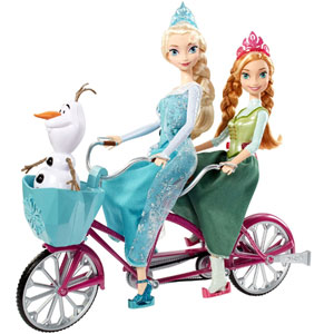 Disney Frozen Musical Bicycle