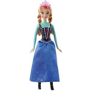 Frozen Sparkle Anna Doll