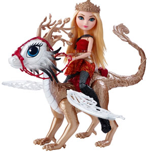 Ever After High Dragon Games Apple White & Braebyrn