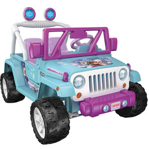 Fisher-Price Power Wheels Disney Frozen Jeep Wrangler