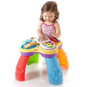 Fisher-Price Puppy Learning Table