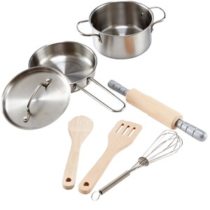 Chef's Cooking Set Playset