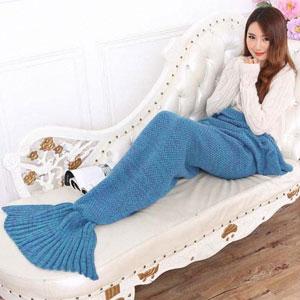 Hughapy Mermaid Tail Blanket