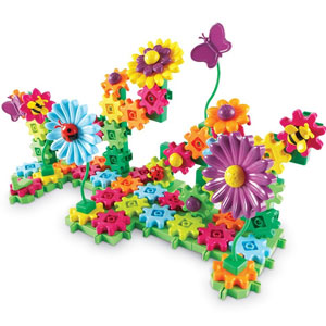 Gears! Build Flower Garden