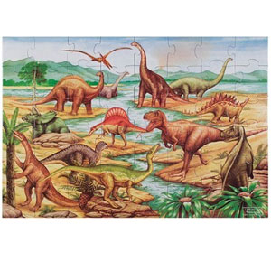 Melissa & Doug Dinosaurs Jigsaw Floor Puzzle (48 pcs)