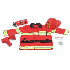 Fire Chief Role Play Costume