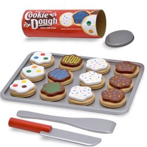 Melissa & Doug Slice and Bake Wooden Cookie