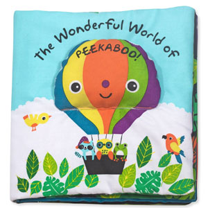 Melissa & Doug Soft  Peekaboo Book!