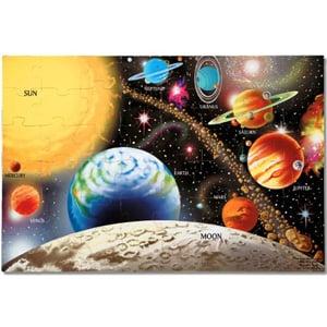 Melissa & Doug Solar System Floor Puzzle (48 Pieces)