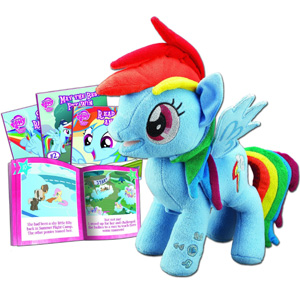 Rainbow Dash Animated Plush