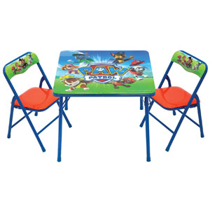 Paw Patrol Activity Table Sets