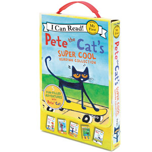 Pete the Cats Super Cool Reading Collection