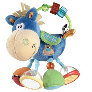 PlayGro Clip Clop Baby Rattle