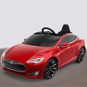 Radio Flyer's Tesla Model S.