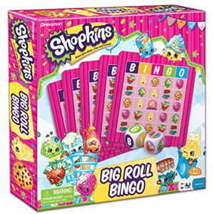 Shopkins Big Roll Bingo Game
