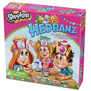 Shopkins Hedbanz Board Game