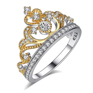 Chic Code Gold Plated 925 Sterling Silver Princess Ring