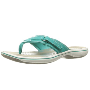 Clarks Womens Breeze Sea Flip Flop