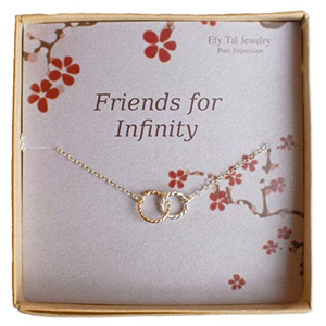 Efy Tal Friends Infinity Necklace