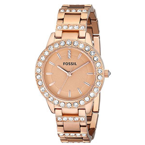 Fossil Jesse Rose Gold-Tone Watch