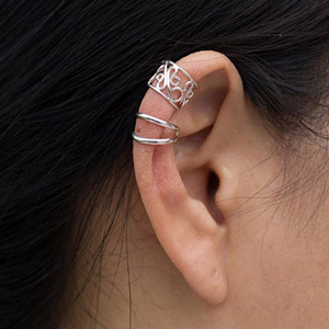 NOVICA Non Pierced Ear Cuff Earrings