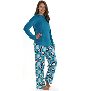 PajamaMania Fleece Lounge Pajama Set