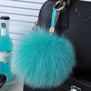 Roniky Large Genuine Fox Fur Pom Pom