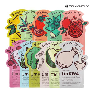 TONYMOLY Im Real Mask Sheet Pack of 11
