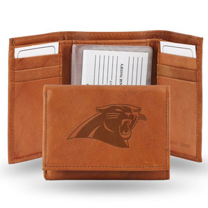 NFL Embossed Genuine Leather Trifold Wallet