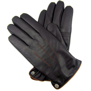 iGT CLASS Men's Touch Screen Leather Gloves