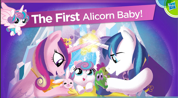 First Alicorn Baby