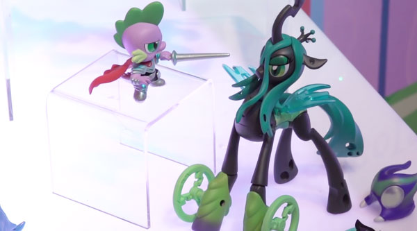 Guardians Of Harmony Spike the Dragon VS Queen Chrysalis