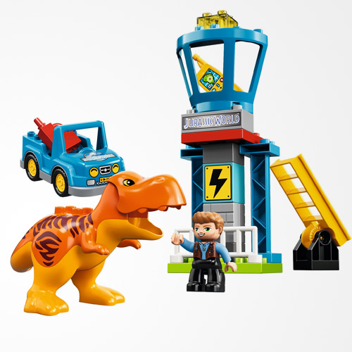 LEGO DUPLO Jurassic World T-Rex Tower 10880