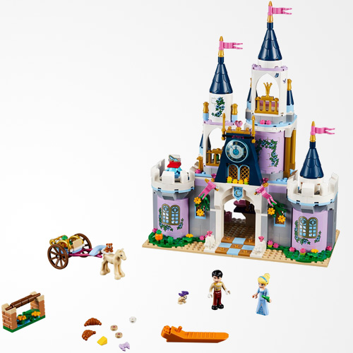 LEGO Disney Cinderella's Dream Castle 41154