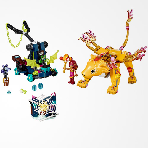 LEGO Elves Azari & The Fire Lion Capture 41192